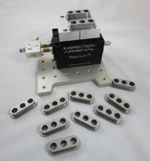 2.5 Rapid-Loc™ System - 1 Vise on 6x6 LNL plate