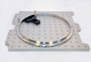 12x12 CMM Plate with Cross-Bow + Ring - Inspection Arsenal