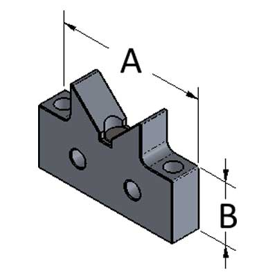 V-Block Magnetic Riser