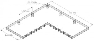 scratch-resistant polycarbonate plates for CMM