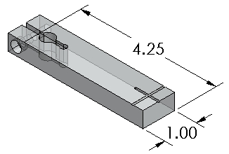 Lift for Vision fixtures - Inch