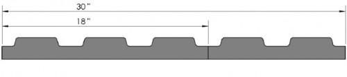 "Loc-N-Load End Cap - 18x30"""