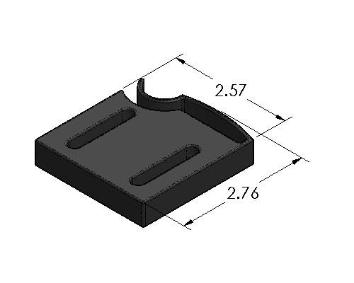Trigger Block Spring Clamp - Inch