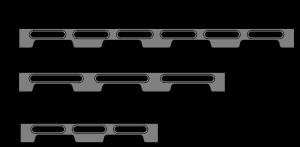 Loc-N-Load Docking Rail - Metric