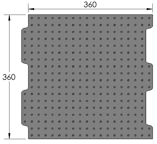 Loc-N-Load M360 Plate
