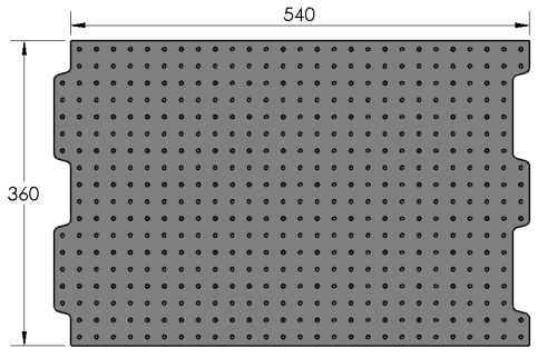 Loc-N-Load M360/540 Plate