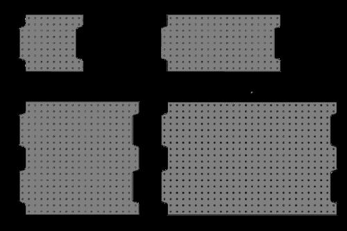 Loc-N-Load Plates Metric
