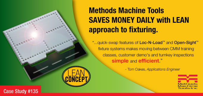 Methods Machine Tool Case Study