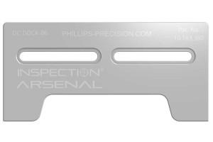 Optical Comparator Docking Rail - 6 inch