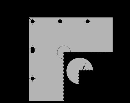 Vision Corner Block 6x6
