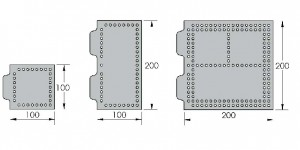 Open-Sight Plate Dimensions - Metric