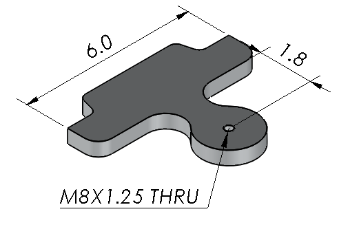 Qualifying Indicator Ball Plate with Ceramic Ball