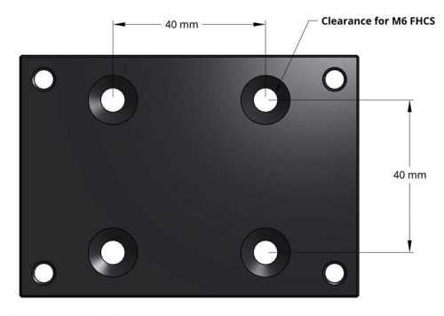 Rapid-Loc Adapter Plate Metric