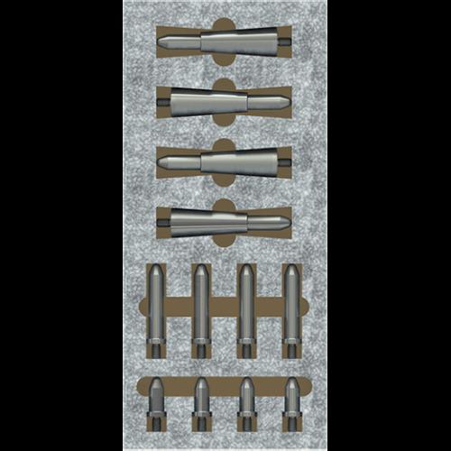Silver Bullet Aluminum - 4 sets