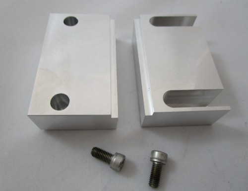 Machinable Soft Jaws for Rapid-Loc™ Air Vise
