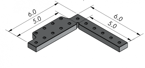 CMM Fixture Plate, Angle plate/stop