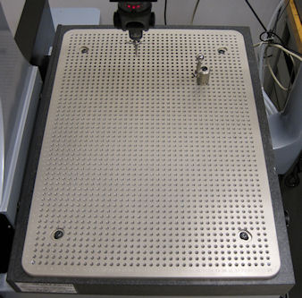 CMM Fixture Plate Aluminum