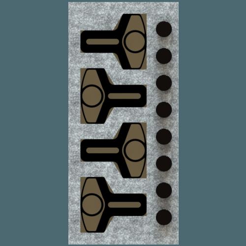 Cross-Bow set of 8