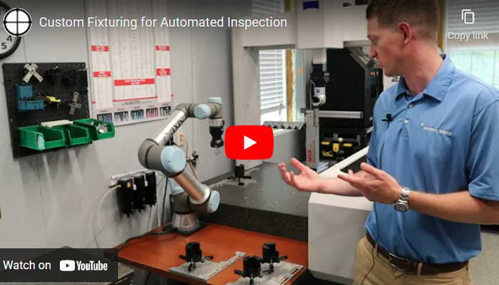 Custom Fixturing for Automated Inspection