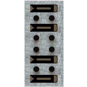 D-Block clamps - set of 8