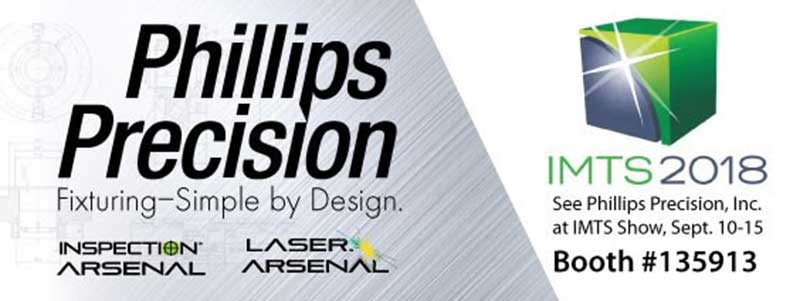 Phillips Precision's Inspection Arsenal® Booth 135913 at IMTS