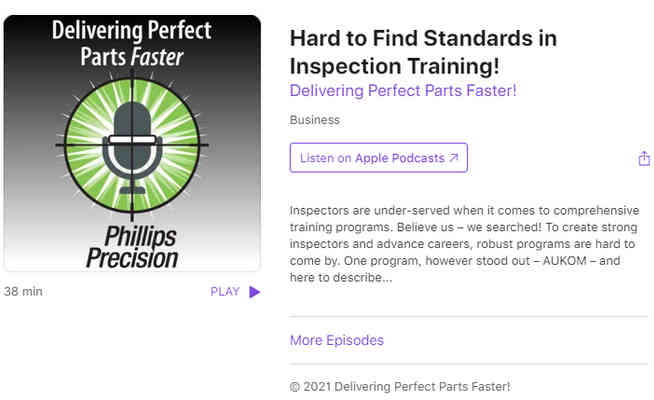 Hard to Find Standards in Inspection Training!