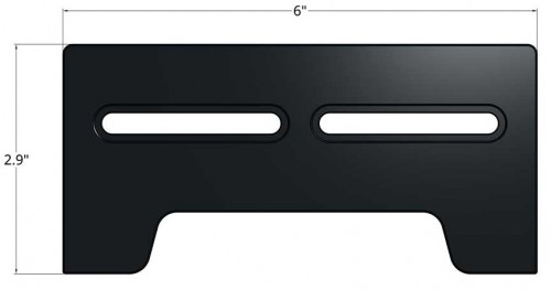 Open-Sight 6 Inch Docking Rail