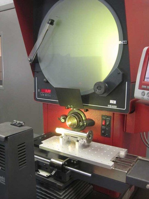 Loc-N-Load™ Inspection Fixture for Optical Comparator