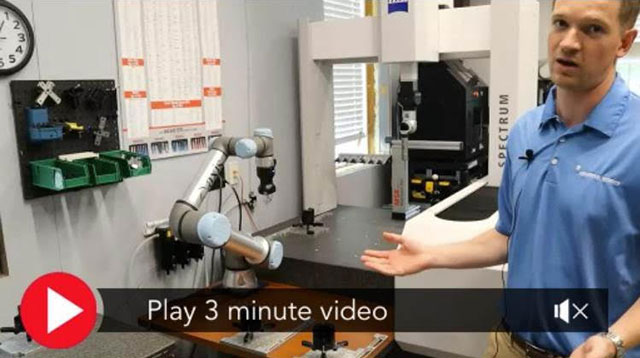 Cobots Breach Manufacturing Inspection Labs!