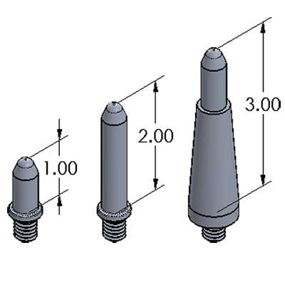 Silver-Bullet™ Stand-Offs - Aluminum - Inch