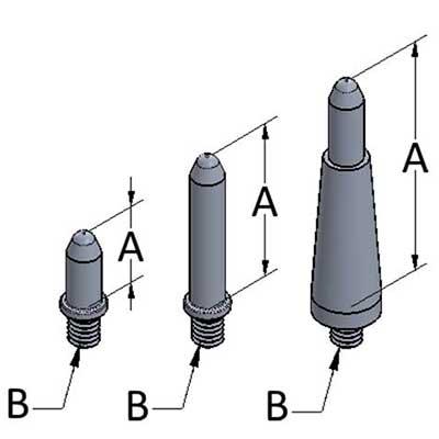 Silver-Bullet™ Stand-Offs - Aluminum