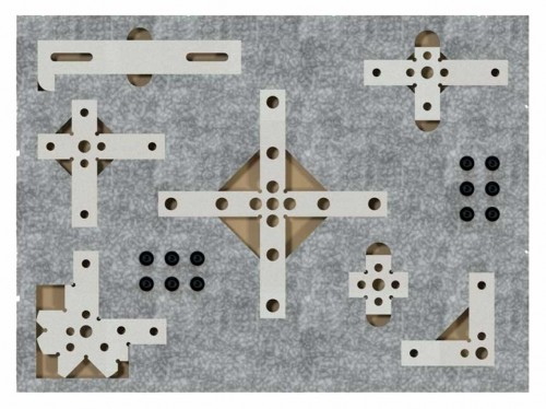 Rails & Stops, Set of 7 for CMM Inspections