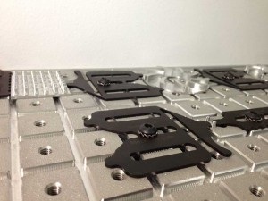 Spring-Loc™ CMM and vision fixture clamp