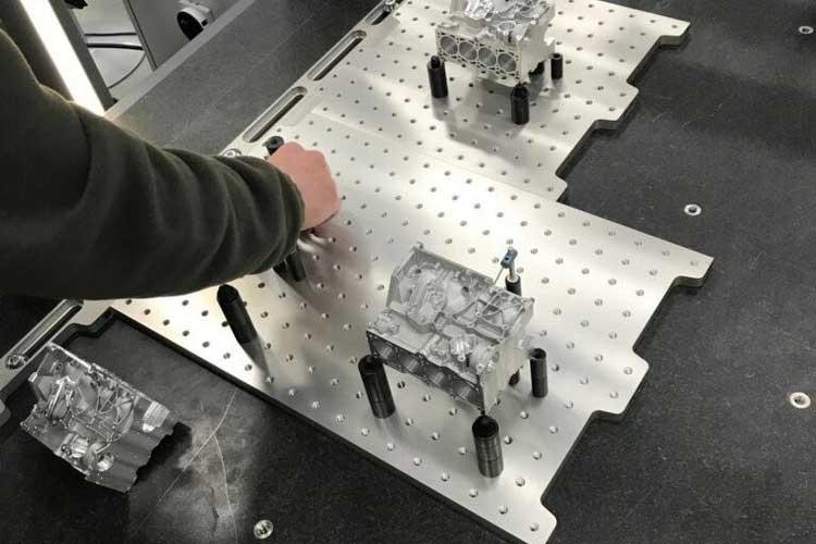 To Break Workflow Bottlenecks, U.S. Manufacturer Designs Quick-swap Fixture Systems