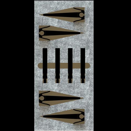 Trigger Finger - Set of 4