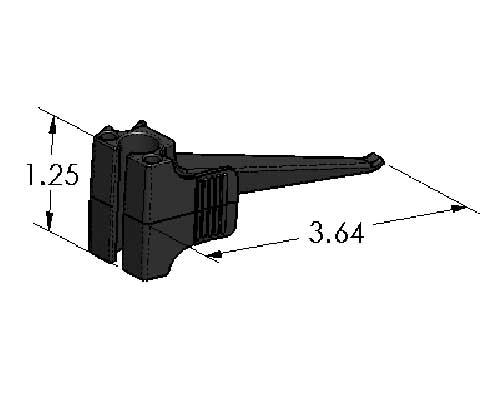 spring clamp - trigger finger - inch