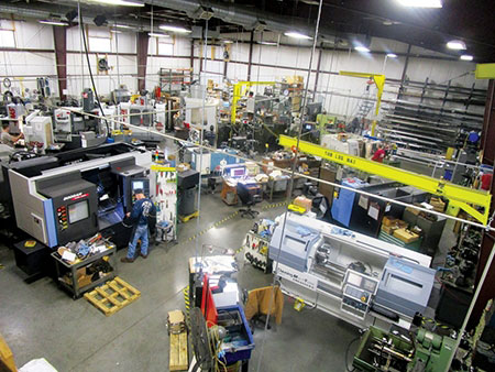 Phillips Precision uses the equipment on its shop floor to not only serve clients' orders, but to come up with new products that can make manufacturing easier.